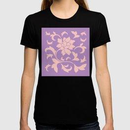 Oriental Flower - Strawberry Lilac T-shirt