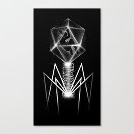 Bacteriophage Canvas Print