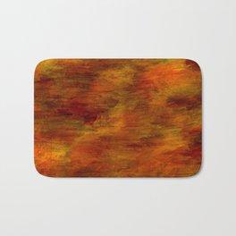 Autumn abstract texture Bath Mat