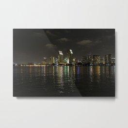 San Diego Lights  Metal Print