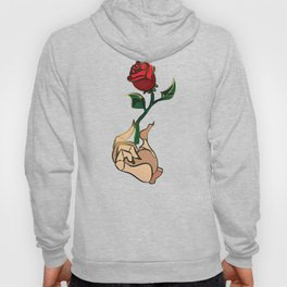 Rose Flower Stained Glass Hoody
