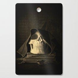 Creepy Halloween Skull Cutting Board
