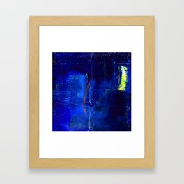 Into The Blue No.3a by Kathy Morton Stanion Framed Art Print