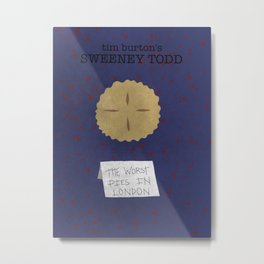 Sweeney Todd Fan Poster- Lemons Metal Print