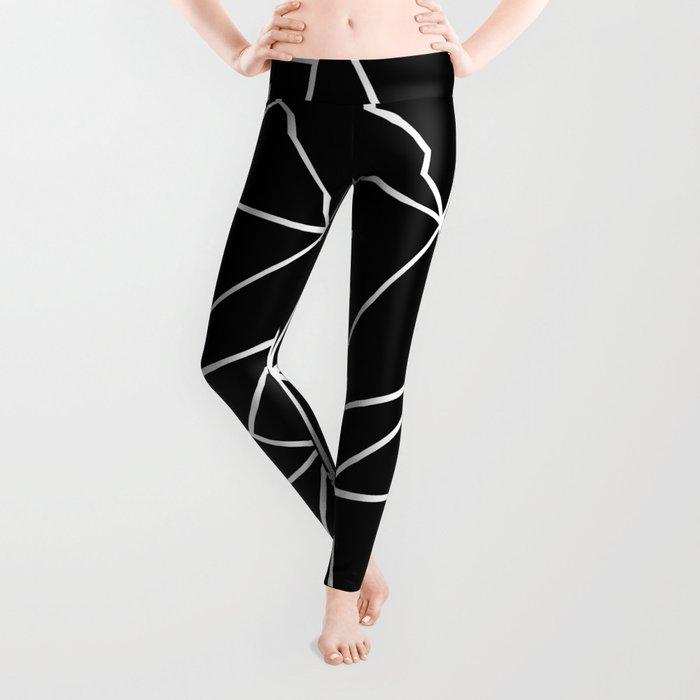 Abstract Heart Leggings