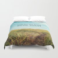 destiny Duvet Covers featuring destiny by Sylvia Cook Photography
