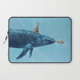 Party Whale  Laptop Sleeve