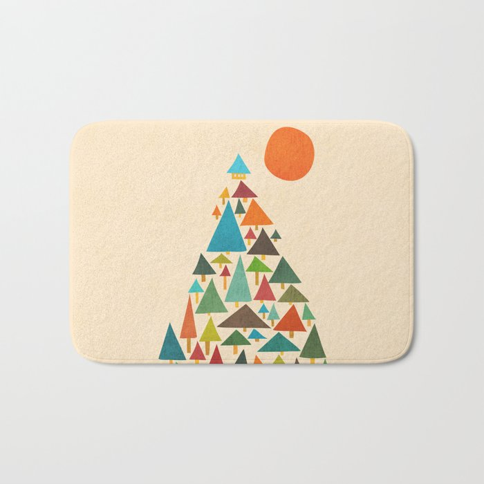 The house at the pine forest Bath Mat