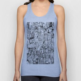 Horror Vacui Unisex Tank Top