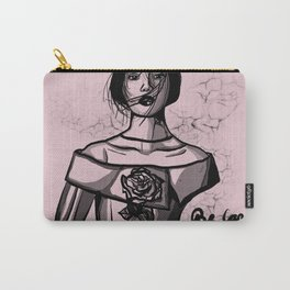 Be Careful with my Petals Carry-All Pouch