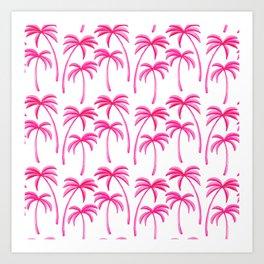Dreamy Island Vacation Art Print
