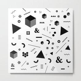 Geometry x Madness Metal Print
