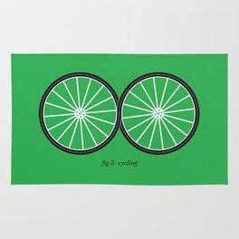 Fig.8: cycling Rug