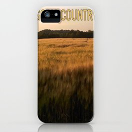 God's Country iPhone Case