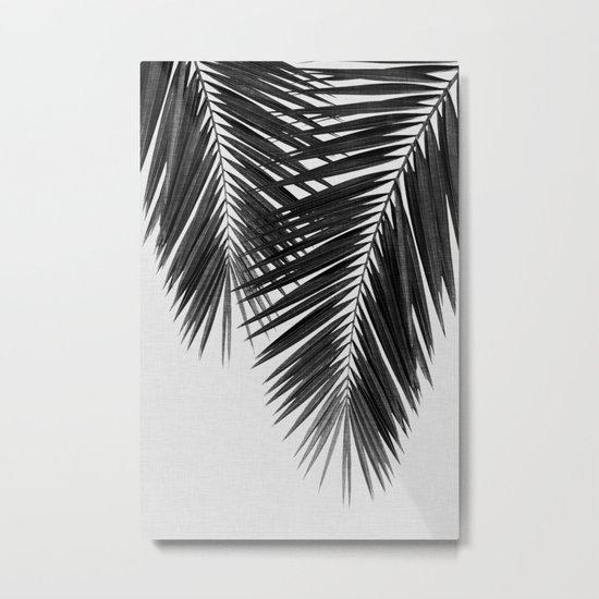 Palm Leaf Black & White II by paperpixelprints