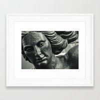 portlandia Framed Art Prints featuring Portlandia by Cameron Booth