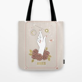 Aries Zodiac Series Tote Bag