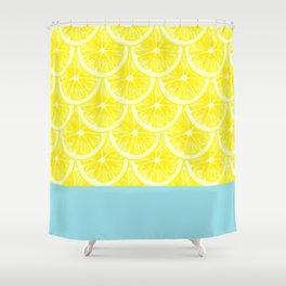Zesty splice Shower Curtain