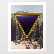 Space Frame Art Print