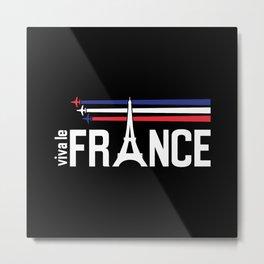 Vive La France Metal Print