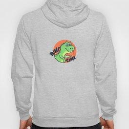 Funny cartoon dinosaur dino time quote Hoody