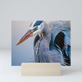 Great Blue Heron Mini Art Print