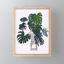 Plant Love Framed Mini Art Print