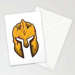 Spartan Helmet - Warrior Guard Stationery Cards