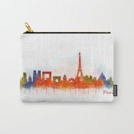 Paris City Skyline Hq v3 Carry-All Pouch