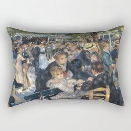Pierre-August Renoir's Bal du moulin de la Galette Rectangular Pillow