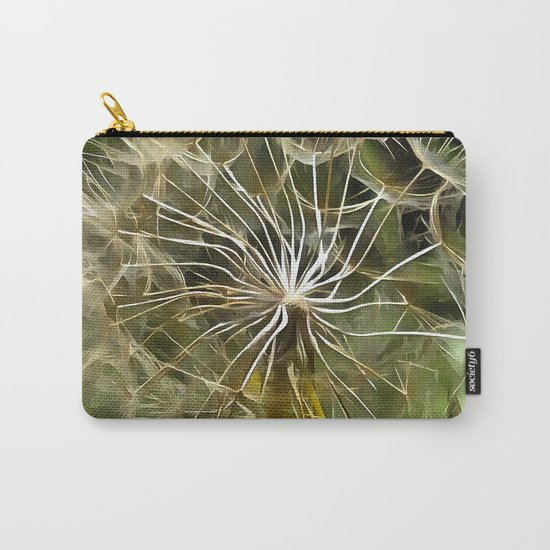 Tragopogon Wildflower Salsify Carry-All Pouch