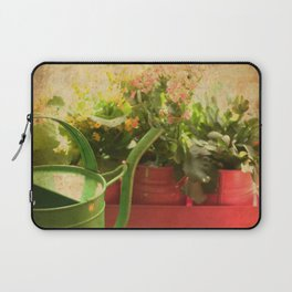 Flower Pots Laptop Sleeve