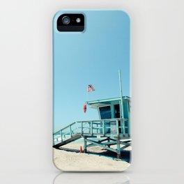 Rosecrans Tower in Manhattan Beach (El Porto) iPhone Case