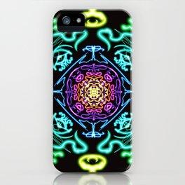 Neon Nirvana iPhone Case