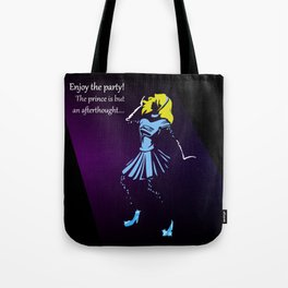 Glass Slipper Tote Bag