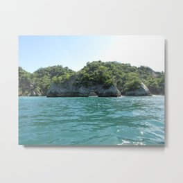 Tortuga Island Metal Print