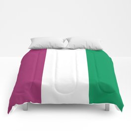 Flag of the suffragettes Comforters