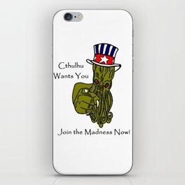 Cthulhu Wants You! iPhone Skin