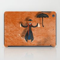 mary poppins iPad Cases featuring Mary Poppins by fedralita