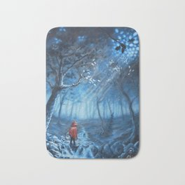 Little Miss Red Hood Bath Mat