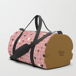 Bandit - pink pattern Duffle Bag