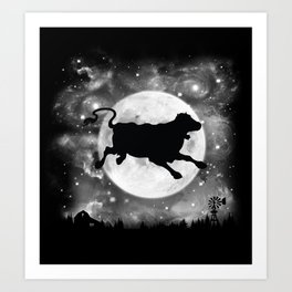 The Milky Way Art Print
