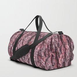 Pink Bark Duffle Bag