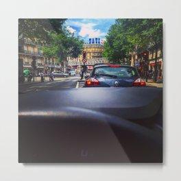Barbes Paris Driving Metal Print