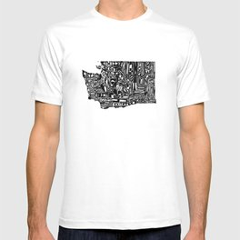 Typographic Washington T-shirt