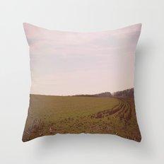 Long Field Throw Pillow