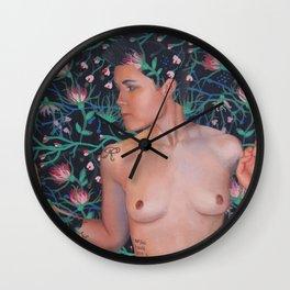 LDGF Floral Wall Clock