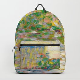 "Georges Seurat ""The Seine at Courbevoie"" Backpack"