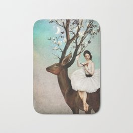 The Wandering Forest Bath Mat