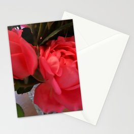 Pink Roses WC Stationery Cards